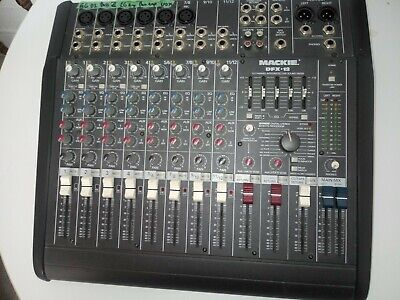 Mackie DFX12 Mixer 12 Channel Compact Integrated Live Sound Mixer