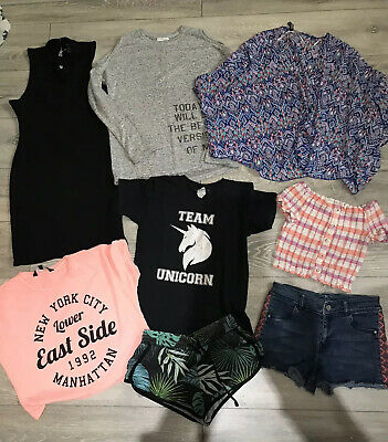 Bundle Of Girls  Clothes Age 12-13 Years Most Of New Look