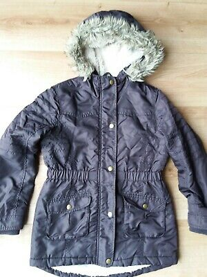 Girls Brown Jacket Size 10-11 Years From Nutmeg