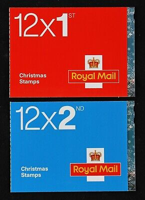 Royal Mail 1st & 2nd Class Christmas stamp books 2006