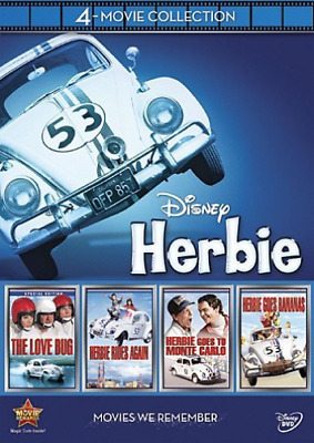 GIFT SET-Disney Herbie: 4-Movie Collection (US IMPORT) DVD NEW