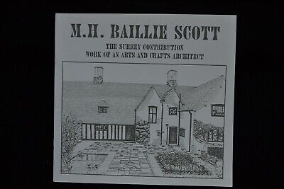 M.h. Baillie Scott Surrey Connection Arts & Crafts Architect In Surrey Guildford