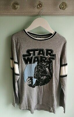Boys Star Wars Long Sleeve T-shirt By Next Size 9 Years darth vader