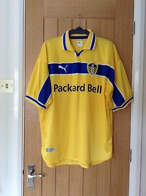 (2442) Puma Leeds United Football Club 1999/2000 Away Shirt - Size XL