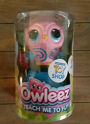 Pink Owleez, Flying Baby Owl Interactive Toy Drone w/ Lights and Sounds Xmas Hot
