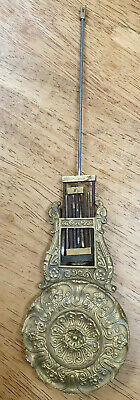 Antique French Portico Clock Pendulum-No Reserve!