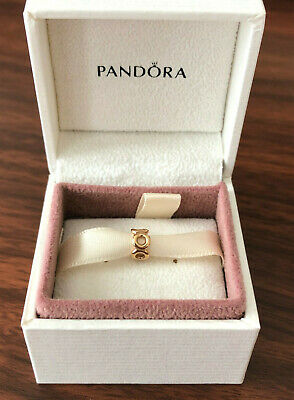 NEW Authentic Pandora 14K Gold LINK SPACER G585 ALE Charm 750222