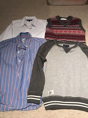 Boys ages 4-5 Yrs White company & Ralph Lauren Jumpers