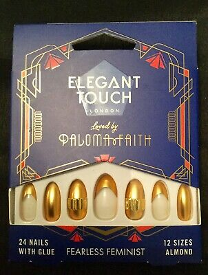 Elegant Touch False Nails Loved By Paloma Faith. Fearless Feminist.BNIB