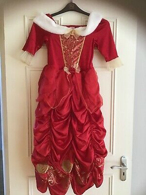 DISNEY Princess Christmas gown for girls aged 8-9 years