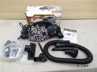Dirt Devil 12 Volt Car Vacuum,Long Cable,Model M250Uk,9.5 Amp,New Bag,Tools