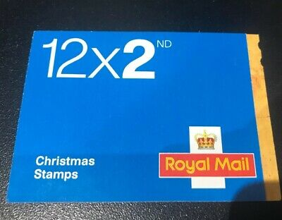 12 x 2nd class posatge stamps, christmas themed, royal mail, unused, 2013