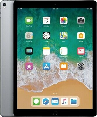 Apple - iPad Pro 12.9-inch (2nd gen) with Wi-Fi   Cellular - 256 GB - Space Grey