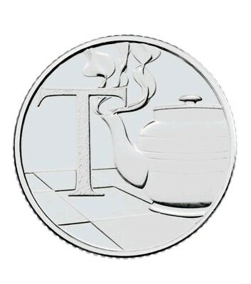 2018 NEW A-Z 10p COIN UNCIRCULATED T - TEAPOT