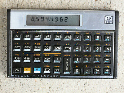 HP 11C Scientific Calculator without Case