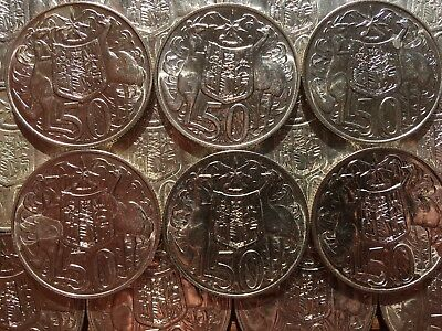 1966 Round 50 Cent Coin - 80% Silver