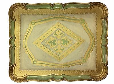 Florentine Rectangle Tray - Made in Italy
