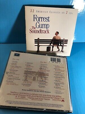 Forrest Gump [Remaster] by Original Soundtrack (CD, 1994, 2 Discs, Sony Music)