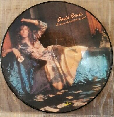 David bowie The Man Who Sold The World Picture Disc Vinyl Album
