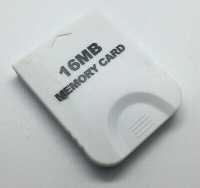 Generic White 16 Mb Memory Card for Nintendo Gamecube - Tested & Works