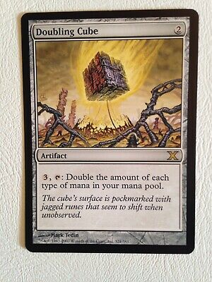 MTG Magic the Gathering Doubling Cube 10th Edition x1 nm/mp