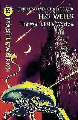 The War of the Worlds (S.F. MASTERWORKS), H.G. Wells, New Book
