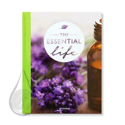 NEW!! doTERRA Book The Essential Life Book 5th Ed ESSENTIAL OIL bible 2018/19