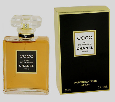 Coco Chanel 3.4 Oz / 100 Ml Eau De Parfum Perfume Spray For Women Brand *New*