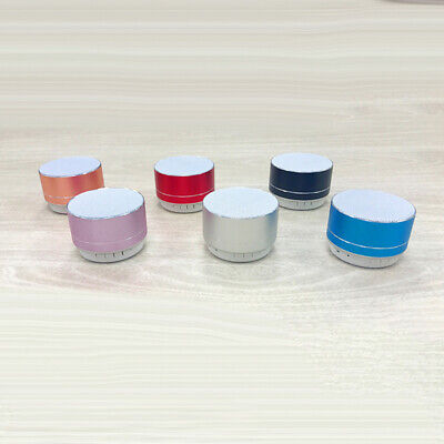 Bluetooth Speaker Wireless LED High Bass Stereo Accessories For IPhone Tablet