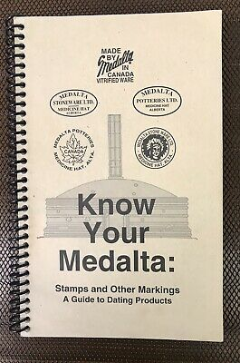 Collectors Reference Book KNOW YOUR MEDALTA GUIDE STAMPS MARK STONEWARE  POTTERY