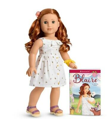 American Girl Blaire Wilson 18 inch Doll with Book Brand New