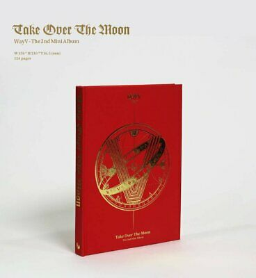 WayV The 2nd Mini Album 'Take Over The Moon' Thai Ver. (NO POSTER)