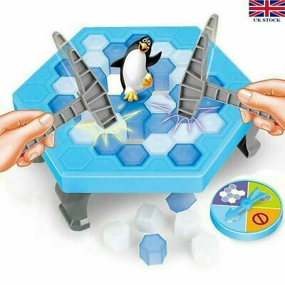 Traditional Classic Family Kids Board Games Indoor Fun Toy 6+ 3+ Penguin Peril