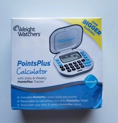 Weight Watchers Points Plus Calculator Bigger Buttons Brand New Sealed
