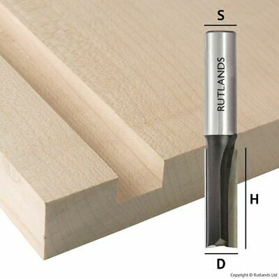 TCT Router Bits - Straight with End Cutting