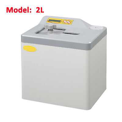 2L Small Dental Lab Class N Steam Autoclave Sterilizer Tabletop Bench Top UK