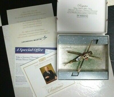 White House WH Historical Assoc Christmas Ornament 2019 POTUS Dwight Eisenhower
