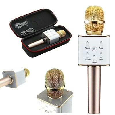 Wireless Microphone Bluetooth 4.0 KTV Karaoke for Samsung iPhone Android Speaker