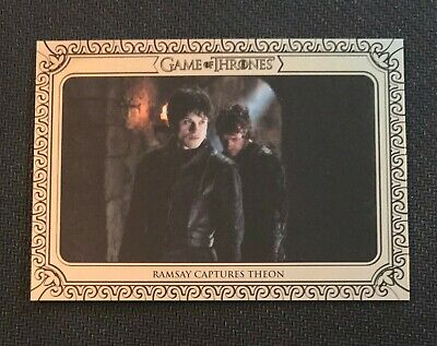2019 Rittenhouse Game of Thrones Inflexions #41 Ramsay Captures Theon.../75