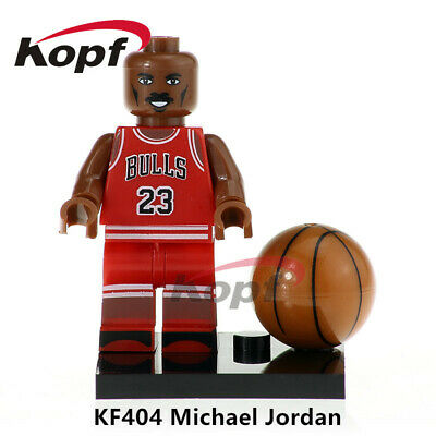 Michael Jordan - Basketball Player Lego Moc Minifigure Gift For Kids
