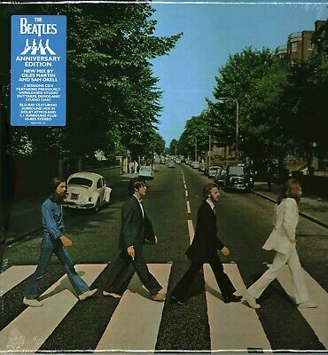 The Beatles - Abbey Road 50th Anniversary Super Deluxe Triple CD & Blu Ray