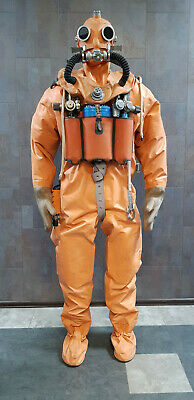Mannequin in a dry suit SGP for submarine. USSR MARITIME