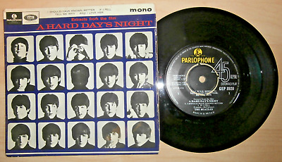 The Beatles 'A hard day's night'  - EP - 1964 - Pressing 8920.
