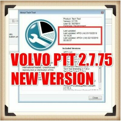 Premium Tech Tool 2.7.75 (PTT 2.7 / VCADS) [2019] (REAL Development) for volvo