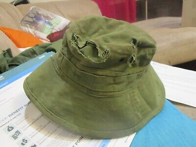 Australian Army Issue Giggle Hat, dated 1969.