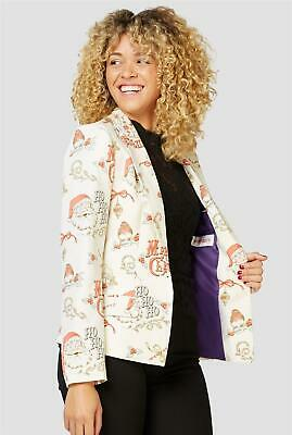 Opposuits Women's Hohoholly Christmas Blazer