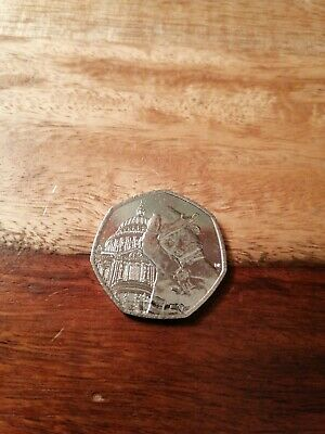 PADDINGTON BEAR AT ST PAULS  50p PENCE COIN 2019 CIRCULATED freepost