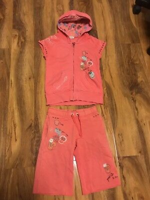Next Girls Short Tracksuit Age 7 Years Old (122cm)