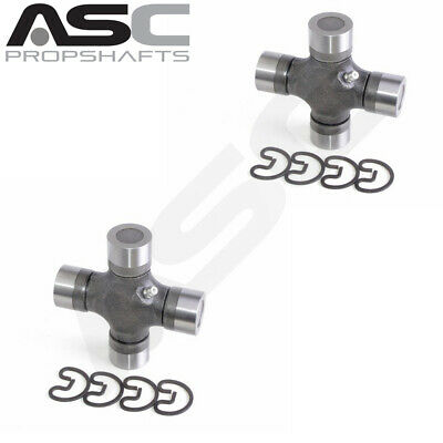 Set Of Two 1550 Series 35mmx127mm Greaseable Universal Joints Fits GMC and RAM