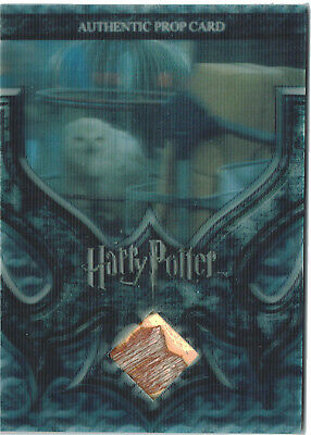 Harry Potter World in 3D Series 2 Prop Relic Card P2 Hedwig's Cage #259/260